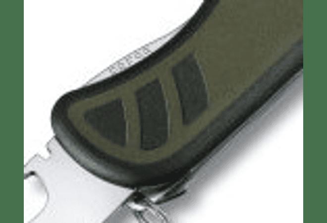 Victorinox Swiss Army Soldier Knife Herramienta Multiuso, Negro con verde