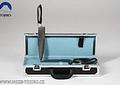 Maletín TOJIRO,  pequeño de cuchillos de cocina, color negro (F-353)