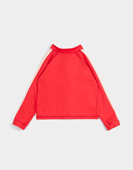 Retro Red Rashguard