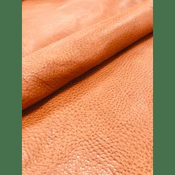 Cuello marroquineria Cognac
