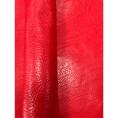 Cuello marroquineria Rojo