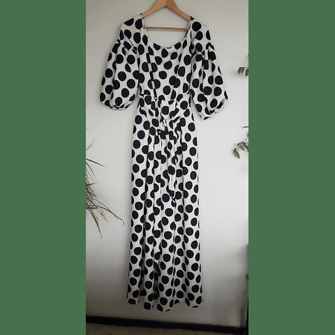 Vestido Lunares PV118