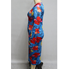 Autumn Stretch Floral Dress (no belt)