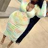 pleated zip-up stylish stretch Dress