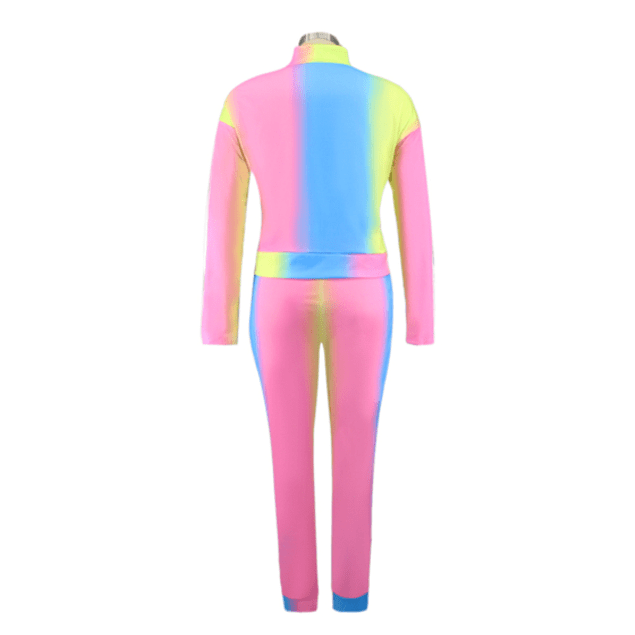 Gradient Stretch 2pc Set