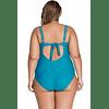 Spagetti Strap Contrast Plus Size Bathing Suit