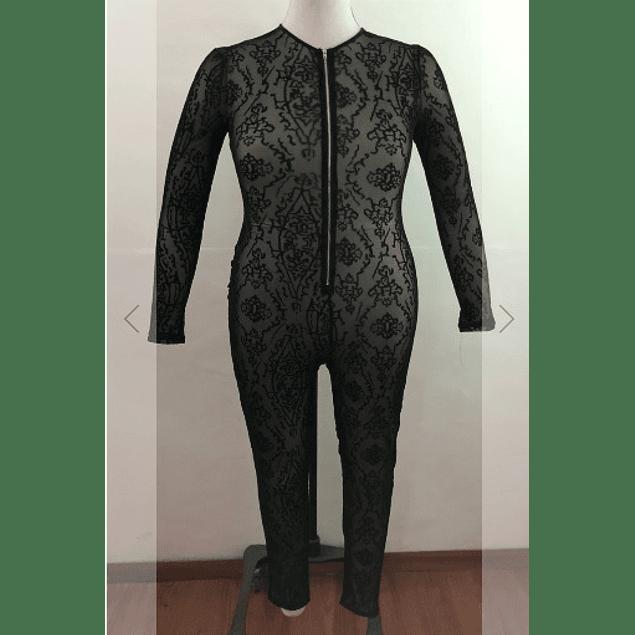 Stylish  C-Thru  Jumpsuit (no lining)