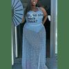 Sexy Fashion Printed  Sleeveless Skirt Set
