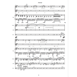 Cantata Amistad - Partitura General (Score)