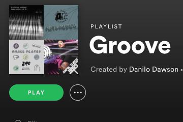 Spotify Playlist para estudiantes - Laidback (y similares) Groove