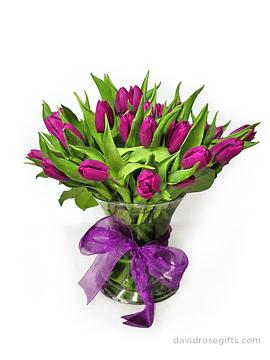 Dos Docenas de Tulipanes Surtidos