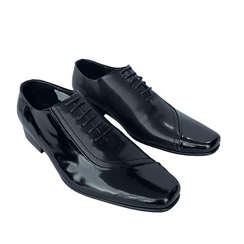 Zapato Z2 Repujado Negro (55)