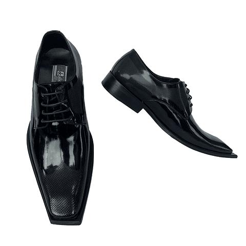 Zapato Z2 Punto Cuadrada Negro (55)