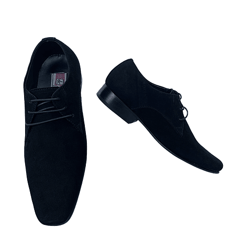 Zapato Z2 Nobuck Negro (55)