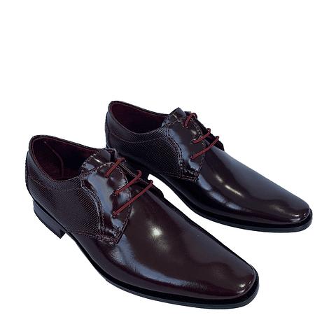 Zapato Z2 Repujado Vinotinto(76)