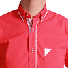 Camisa DC1 Rojo Blanco (167)