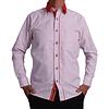 Camisa DC1 Blanco Rojo (102)