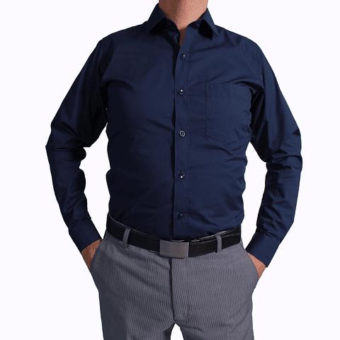 Camisa DC1 Azul Osc (85)
