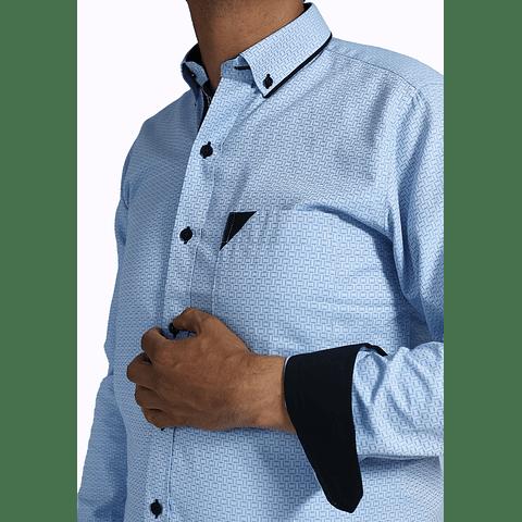 Camisa Dc5 Azul Claro Azul (280)