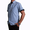 Camisa Dc5 Azul Claro Blanco (148)