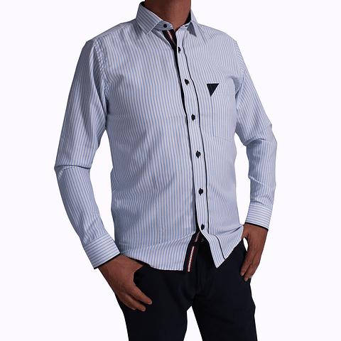 Camisa Dc5 Blanco Azul (94)