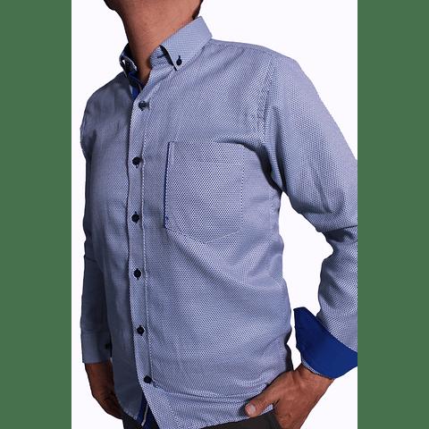 Camisa Dc5 Azul Azul Rey (293)