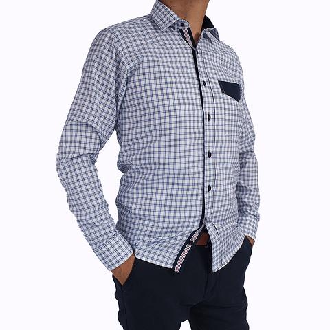 Camisa Dc5 Azul Azul (206)