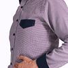 Camisa Dc5 Vinotinto Azul (201)