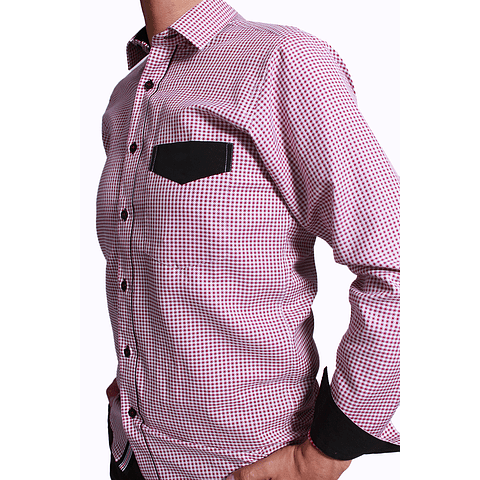 Camisa Dc5 Vinotinto Negro (182)