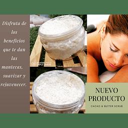 Cocoa & Butter Scrub... Un micro peeling para tú piel