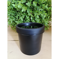 Envase Pet negro 150 ml