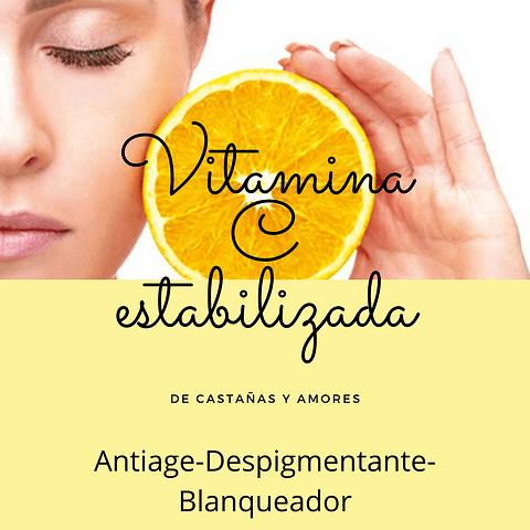 Vitamina C estabilizada Producto Alta gama Premium