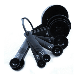 Set de 10 cucharas medidoras
