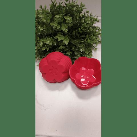 Molde individual flor 5 puntas