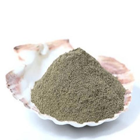 polvo algas marinas