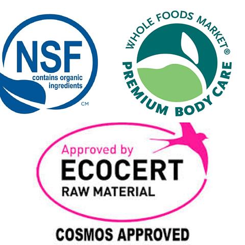 Conservante Cosphagard Certificado por ECOCERT Y COSMOS