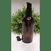 Envase vidrio ámbar 100 ml  tapas spray y crema elegante