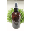 Barrilito 250 ml ámbar tapa spray transparente o negra