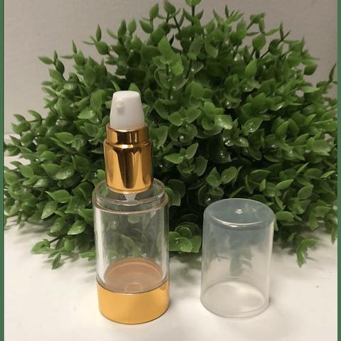 Envase airless elegant dorado 30 ml