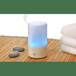 Difusor ultrasónico blanco 125 ml para aromaterapia