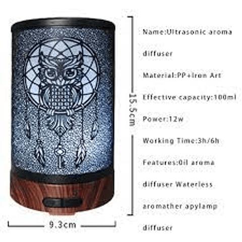 Difusor ultrasónico Buhito para aromaterapia