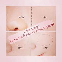 Pore away (reductor de poros)