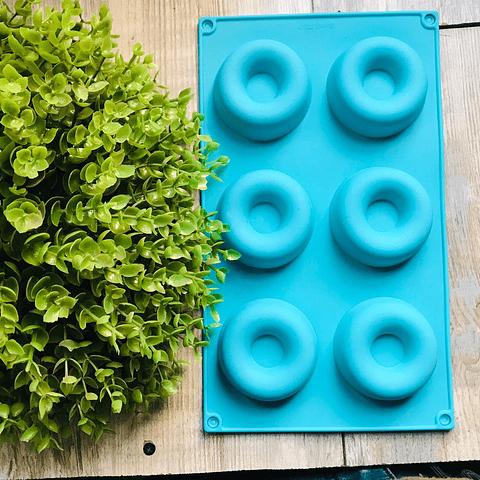 Molde donuts 🍩 6 cavidades