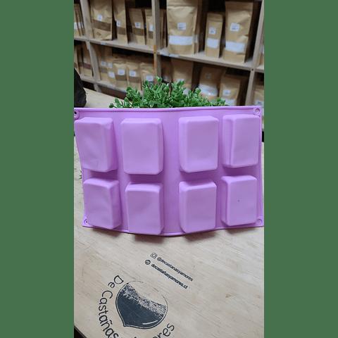 Molde cuadradito 50 grs apróx