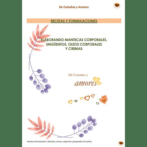 Recetas y formulaciones para preparar en casa