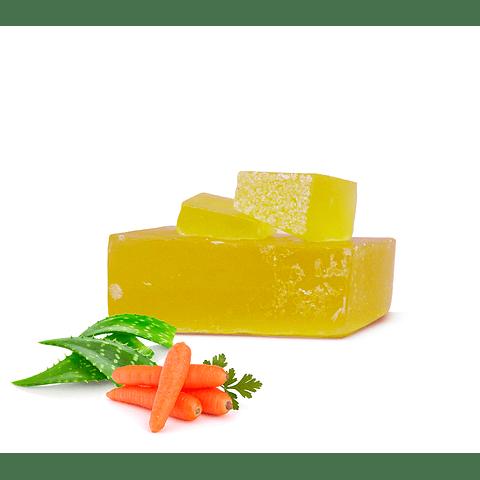 Jabón Aloe vera zanahoria