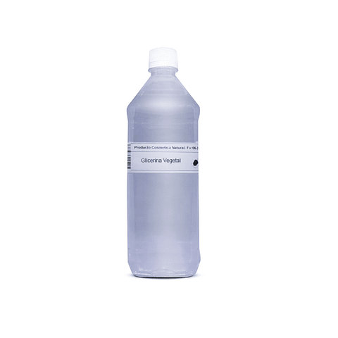 Glicerina vegetal (Cert. KOSHER)