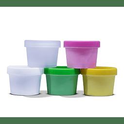 Envases Colores, 50 y 150gr