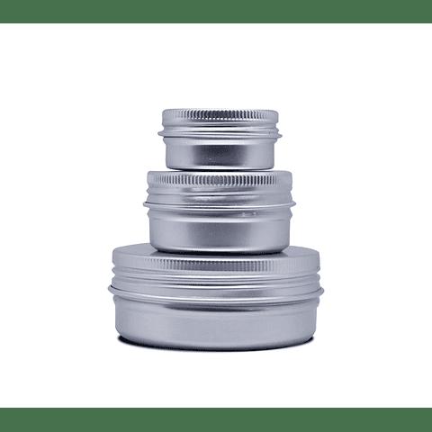 Envase metálico 10, 30, 60, 100 y 200 grs
