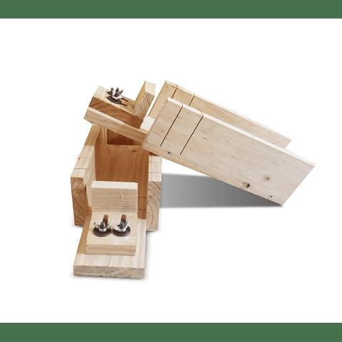 Cortador madera de jabones